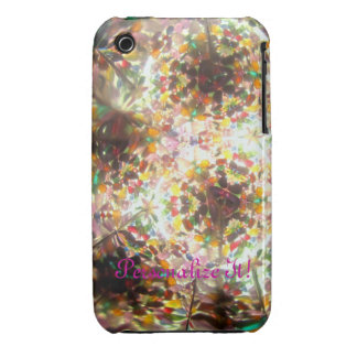 Bejeweled Kaleidescope for January (personalized) Case-Mate iPhone 3 Case