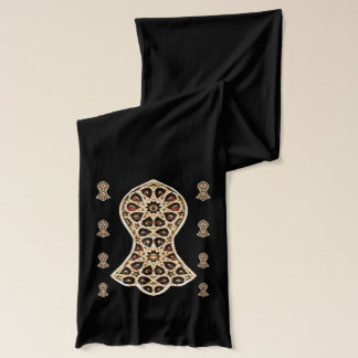 Bejeweled Sandal Of The Prophet (Golden) Scarf
