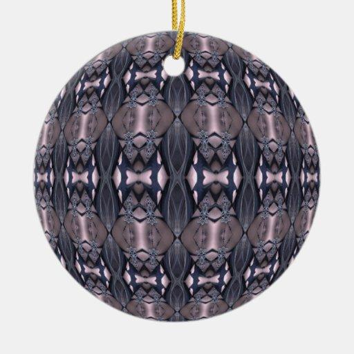 Bejewelled Belly Kaleidoscope Mandala Christmas Ornament