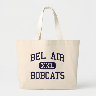 Bel Air - Bobcats - High School - Bel Air Maryland Canvas Bags