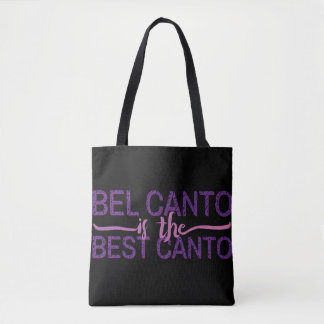 Bel canto is the best canto all-over-print bag