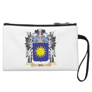 Bel Coat of Arms - Family Crest Wristlet Clutch