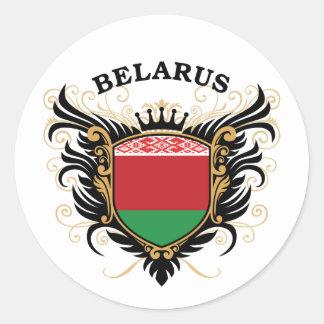 Belarus Classic Round Sticker