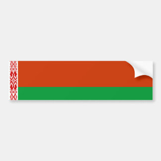 belarus country flag nation symbol bumper sticker