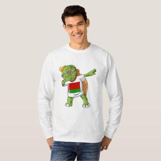 Belarus Dabbing Turtle T-Shirt