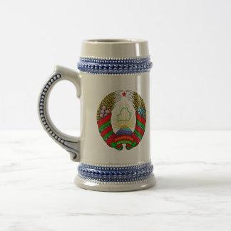 belarus emblem beer steins