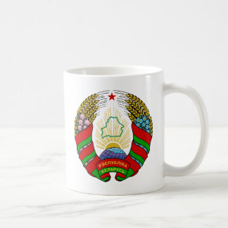 belarus emblem basic white mug