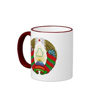 belarus emblem ringer mug