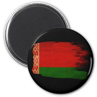 Belarus Flag 6 Cm Round Magnet