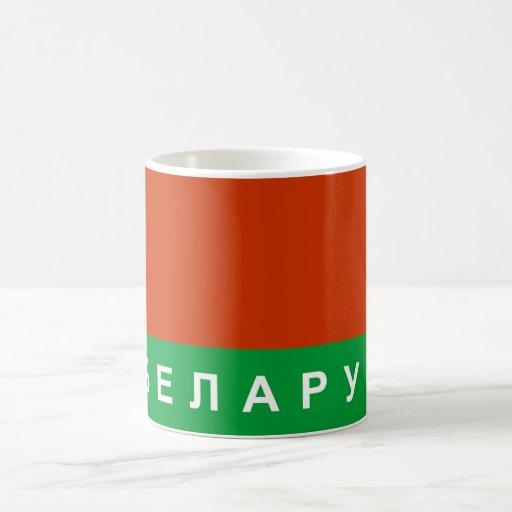belarus flag country russian cyrillic text name mug