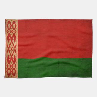 Belarus Flag Kitchen Towel
