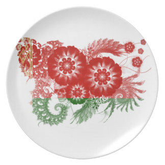 Belarus Flag Party Plate