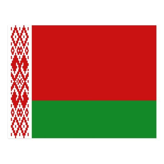Belarus Flag Postcard
