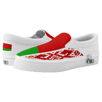 Belarus Flag Printed Shoes
