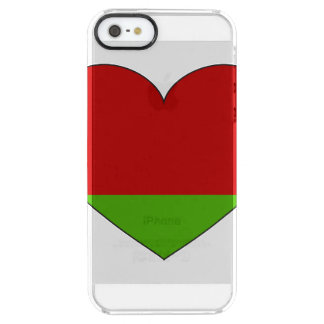 Belarus Flag Simple Clear iPhone SE/5/5s Case