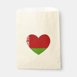 Belarus Flag Simple Favour Bags