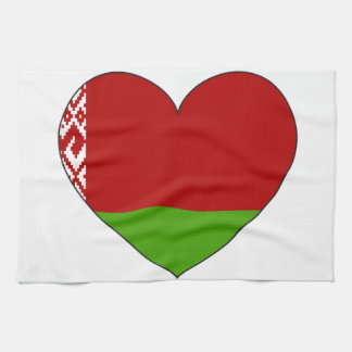Belarus Flag Simple Tea Towel