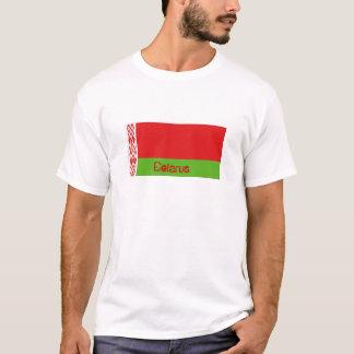 Belarus flag souvenir t-shirt