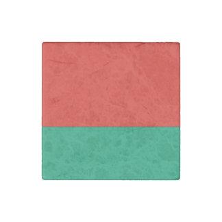 Belarus Flag Stone Magnet
