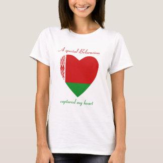 Belarus Flag Sweetheart T-Shirt