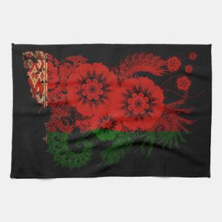 Belarus Flag Tea Towels