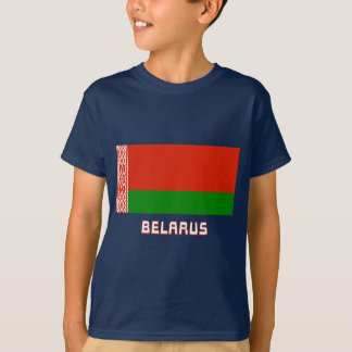 Belarus Flag with Name T-Shirt