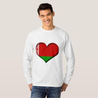 Belarus Heart Flag T-Shirt