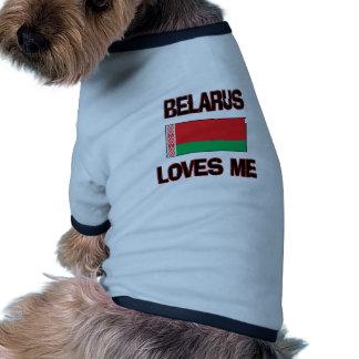 Belarus Loves Me Doggie T-shirt