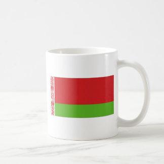 Belarus National  Flag Basic White Mug