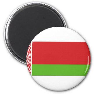 Belarus National  Flag 6 Cm Round Magnet