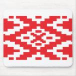Belarus Pattern, Belarus flag Mouse Pad