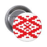 Belarus Pattern, Belarus flag Pinback Button
