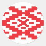 Belarus Pattern, Belarus flag Sticker