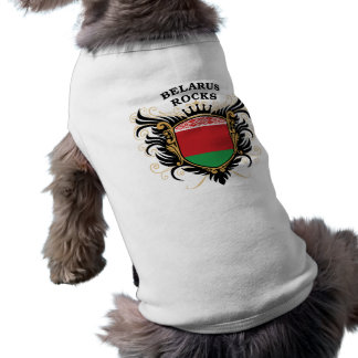 Belarus Rocks Sleeveless Dog Shirt