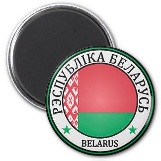 Belarus  Round Emblem Magnet