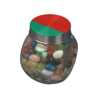 Belarus Glass Candy Jars