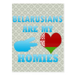 Belarusians are my Homies Postcards