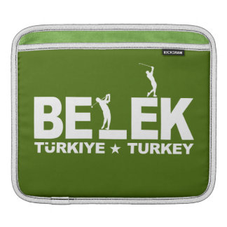 BELEK GOLF custom iPad / laptop sleeve