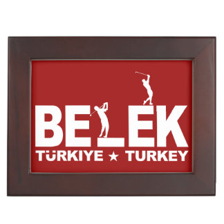 BELEK GOLF custom keepsake box