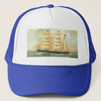 Belem, French Sailing ship, 1902 Trucker Hat