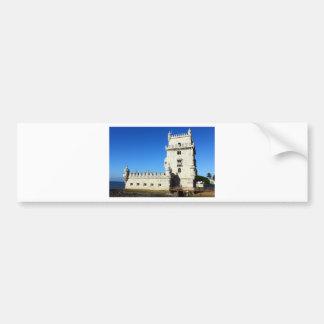 Belém Tower Bumper Sticker