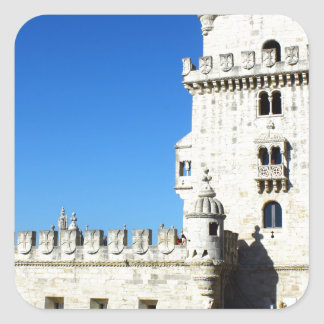 Belém Tower Square Sticker