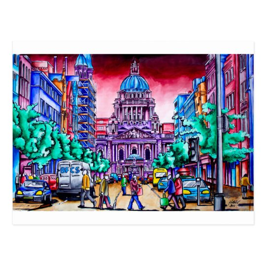 Belfast Alive - Royal Avenue Postcard
