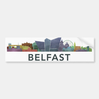 Belfast bumber sticker bumper sticker