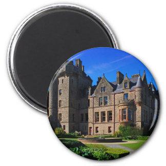 Belfast Castle,  Northern Ireland 6 Cm Round Magnet