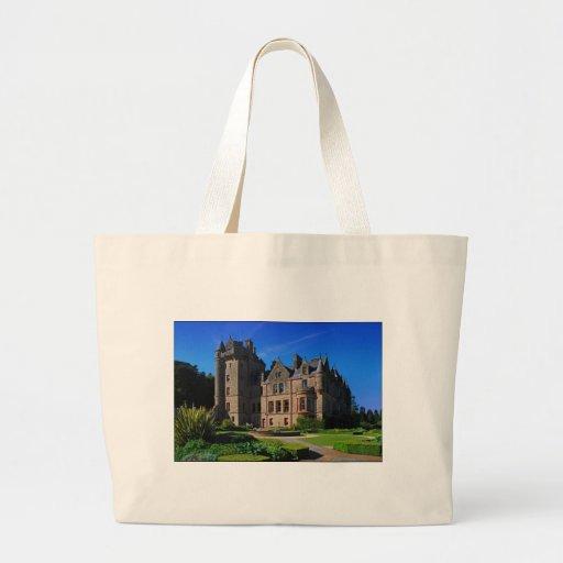Belfast Castle,  Northern Ireland Canvas Bag