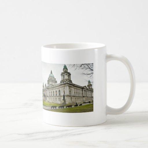 Belfast City Hall Basic White Mug