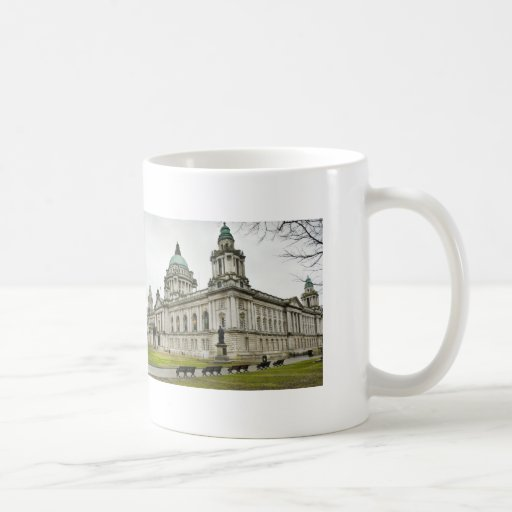 Belfast City Hall Classic White Coffee Mug