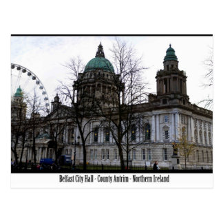 Belfast City Hall Postcard
