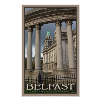 Belfast City Hall Poster